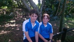 Jamesv and Cameron